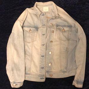 American Eagle boyfriend fit denim jacket